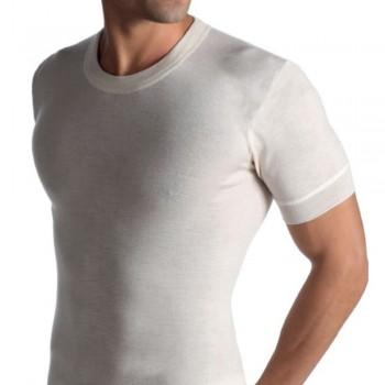 Maglia manica corta uomo in misto lana ALPINA art. 1500MM