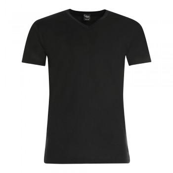 (3pz) T-shirt in filo di scozia scollo a V CIELLEGI uomo