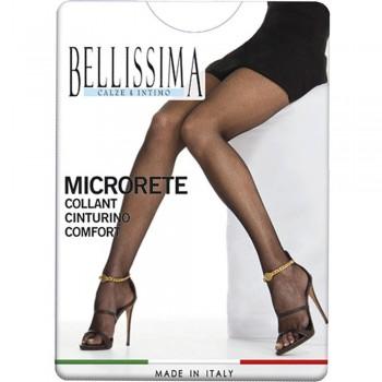 (3pz) Collant microrete BELLISSIMA