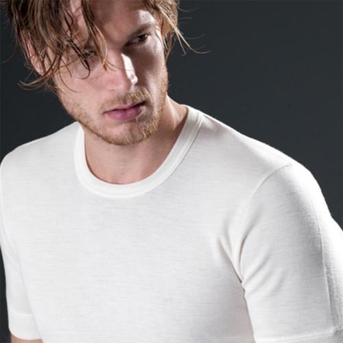 T-shirt in misto lana GICIPI uomo girocollo art. 41
