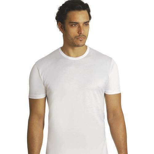 (3pz) T-shirt in cotone filo di scozia uomo AXIOM 6601