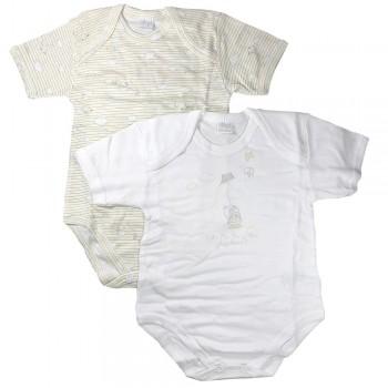 Body in cotone leggero manica corta baby ELLEPI