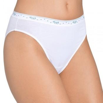 (6pz) SLOGGI Slip in cotone elasticizzato donna 100 TAI