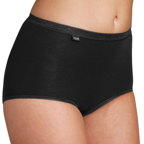 (6pz) SLOGGI Culotte MAXI in cotone elasticizzato donna