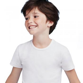 (3pz) T-shirt in cotone elasticizzato ELLEPI bimbo art. 4466