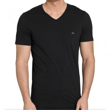 (3pz) T-shirt cotone elasticizzato ROBE DI KAPPA collo a V