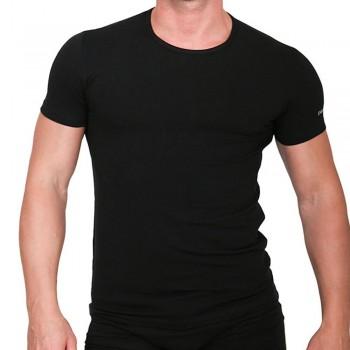 (3pz) T-shirt girocollo in cotone elasticizzato ENRICO COVERI