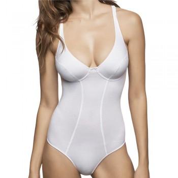 Body in cotone elasticizzato LORMAR donna New Fitness